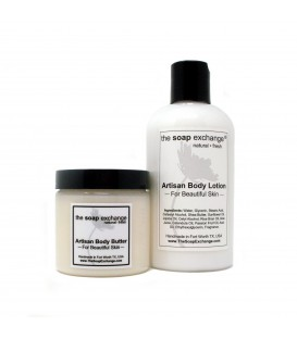 Body Butter & Body Lotion Gift Set 2 Pc