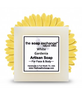 White Gardenia Bar Soap