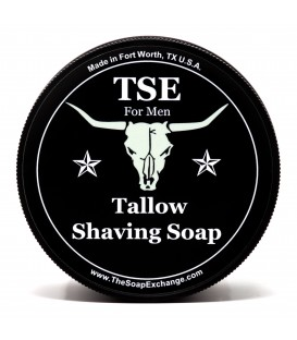 Texas Leather Shaving Soap