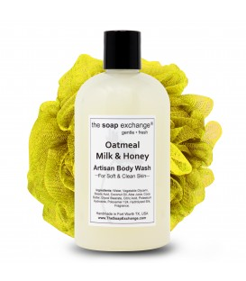 Oatmeal, Milk & Honey Body Wash