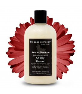 Cherry Almond Natural Shampoo