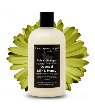 Oatmeal, Milk & Honey Natural Shampoo