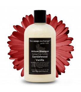 Sandalwood Vanilla Natural Shampoo