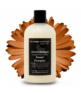 Sweet Pumpkin Natural Shampoo
