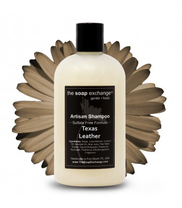 Texas Leather Natural Shampoo
