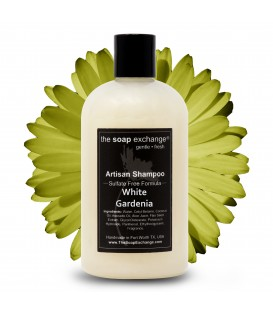 White Gardenia Natural Shampoo