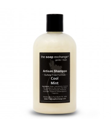 Cool Mint Natural Shampoo