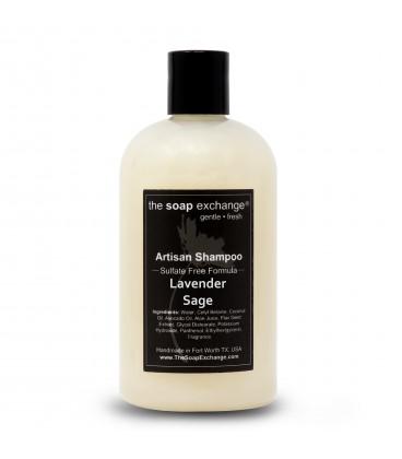 Lavender Sage Natural Shampoo