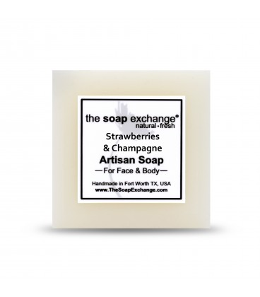 Strawberries and Champagne Bar Soap