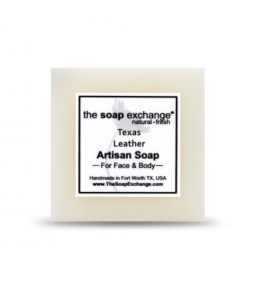 Texas Leather Bar Soap